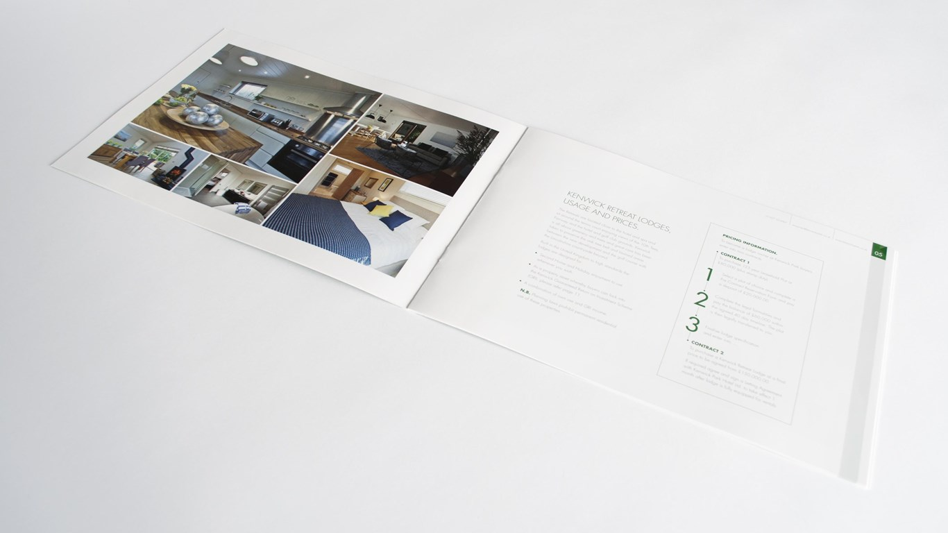 Kenwick Lodges - Brochure Design