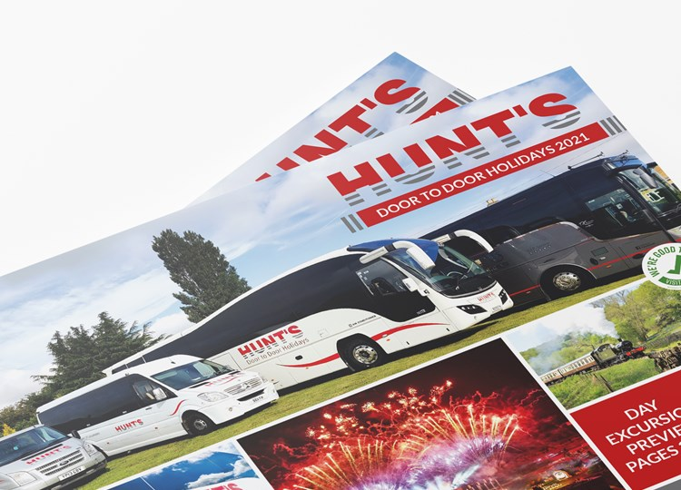 Hunts Coaches Brochure